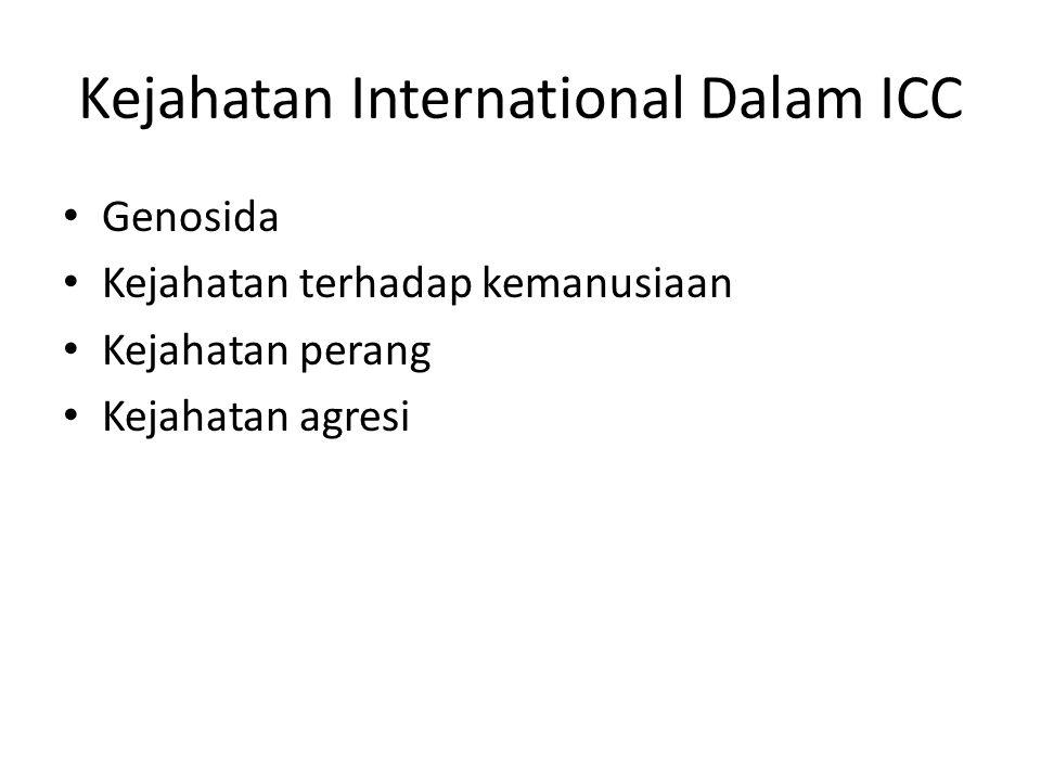 Kejahatan International Dalam ICC