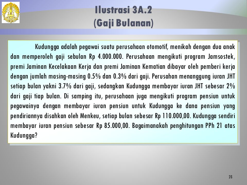 Ilustrasi 3A.2 (Gaji Bulanan)