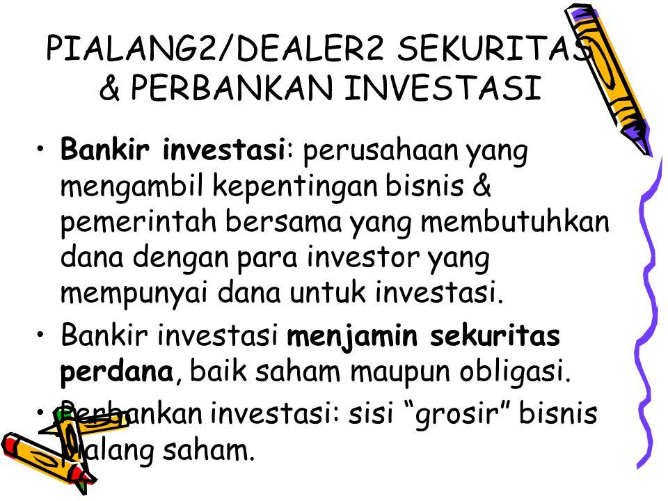 PIALANG2/DEALER2 SEKURITAS & PERBANKAN INVESTASI