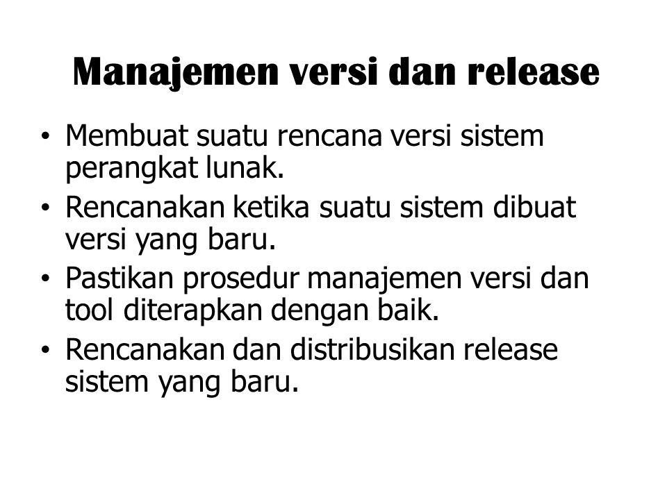 Manajemen versi dan release