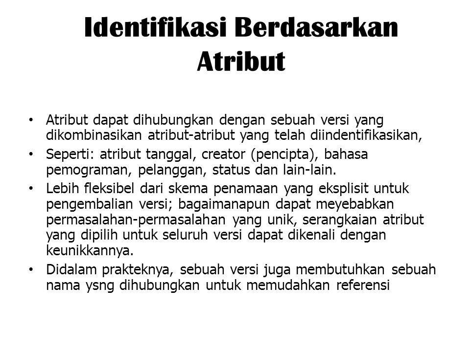 Identifikasi Berdasarkan Atribut