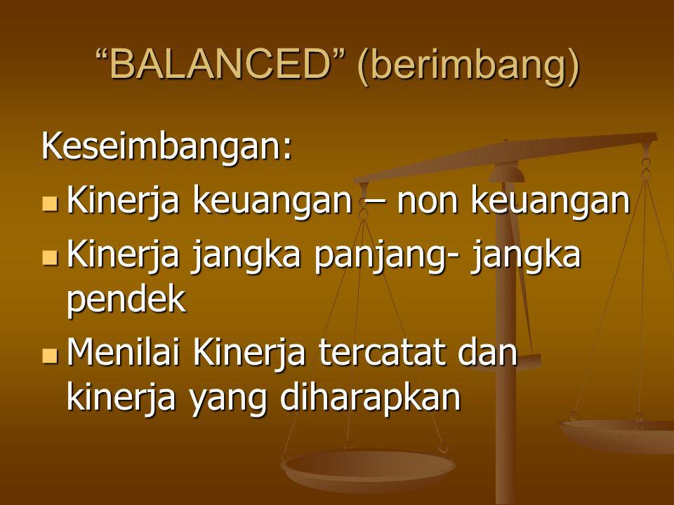 BALANCED (berimbang)