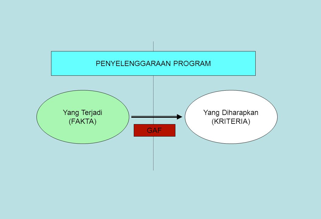 PENYELENGGARAAN PROGRAM