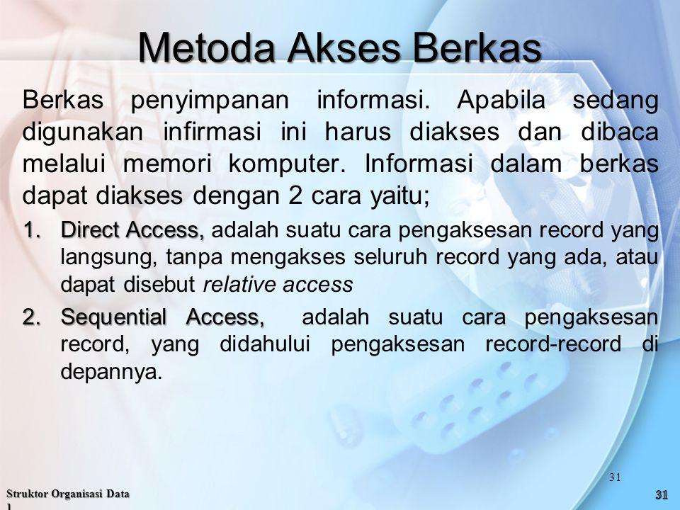 Metoda Akses Berkas