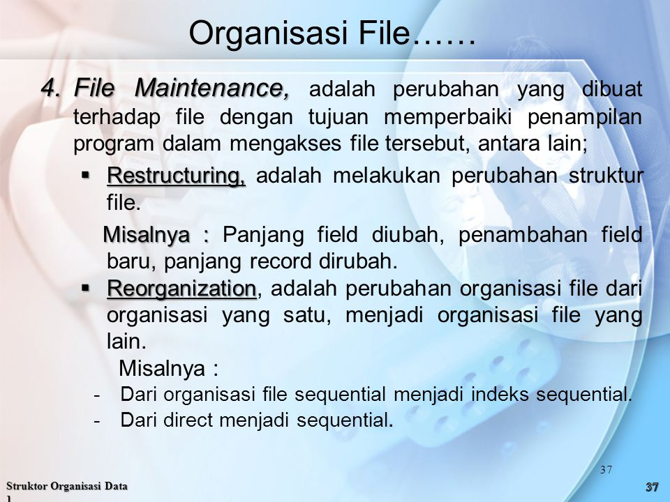 Organisasi File……