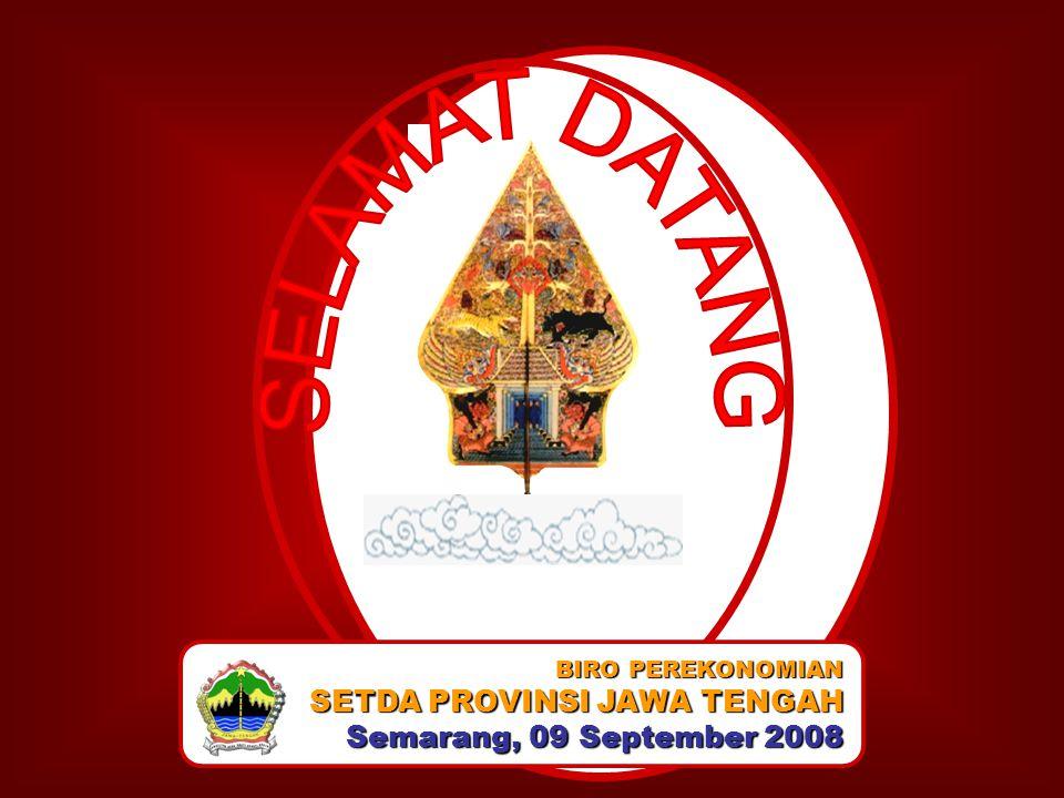 SETDA PROVINSI JAWA TENGAH Semarang, 09 September 2008