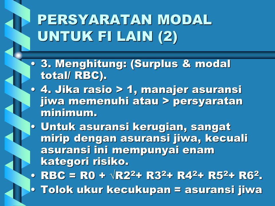 PERSYARATAN MODAL UNTUK FI LAIN (2)