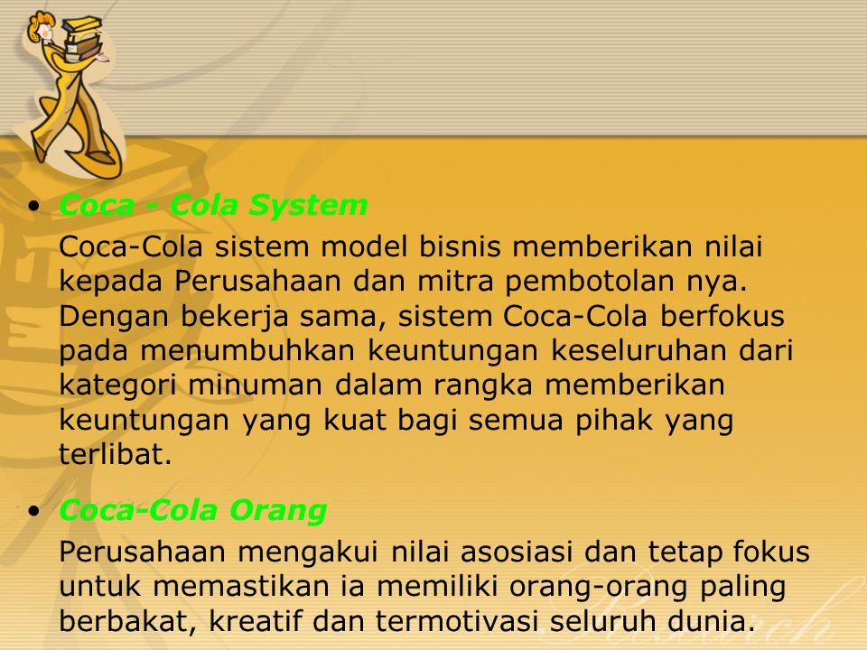 Coca - Cola System