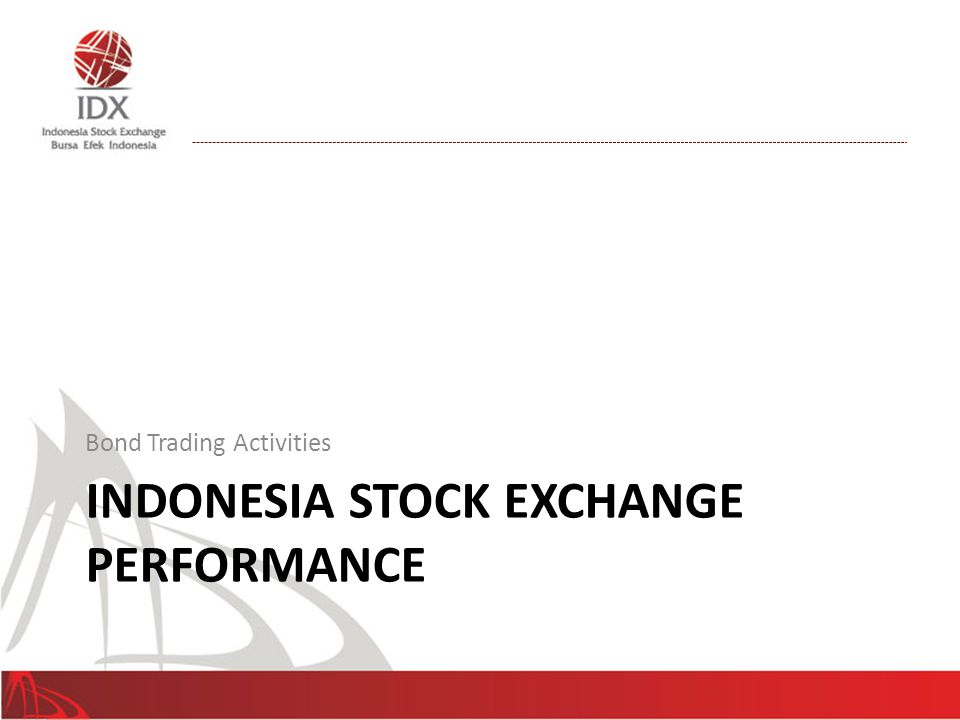 Indonesia Stock Exchange Performance