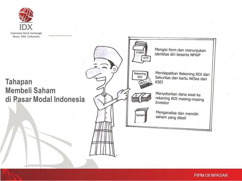 Tahapan Membeli Saham di Pasar Modal Indonesia