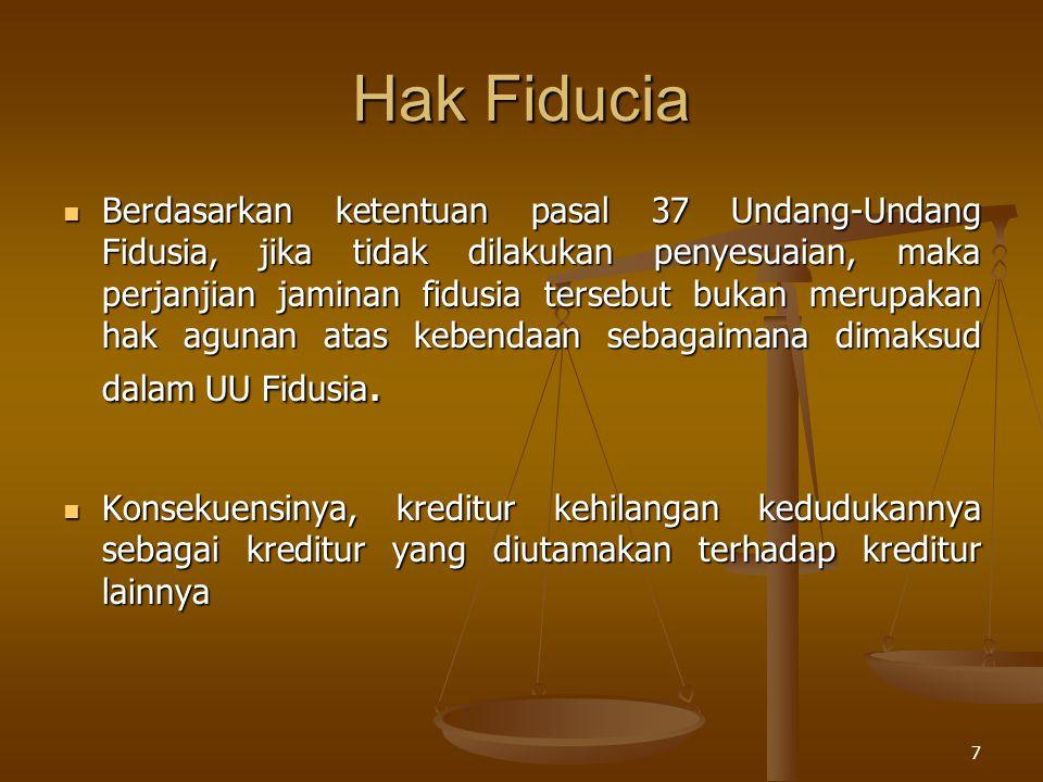 Hak Fiducia