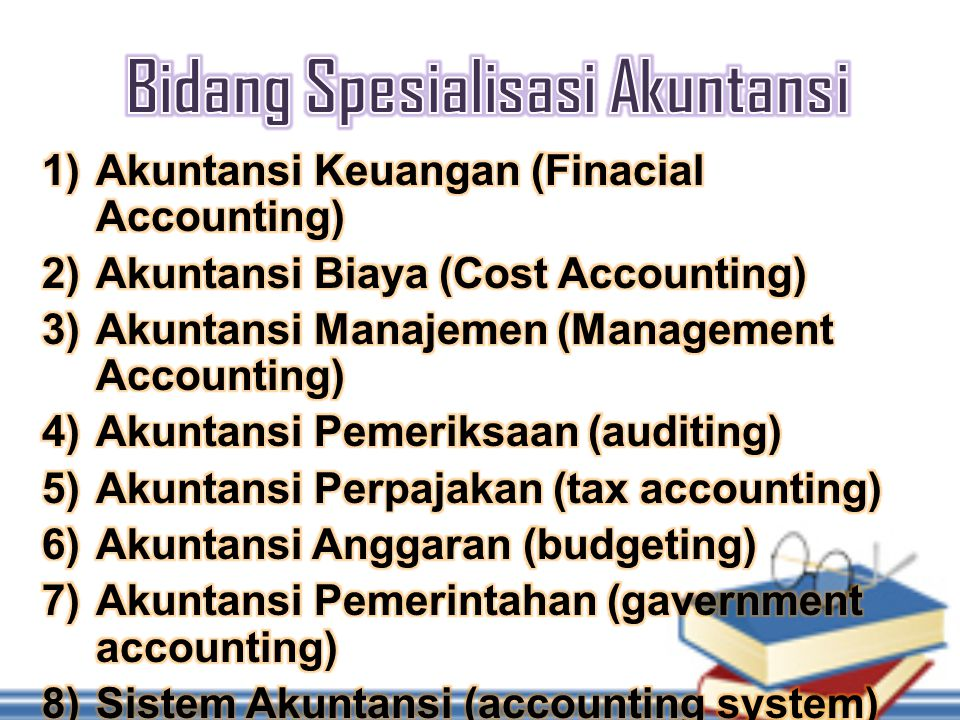 Bidang Spesialisasi Akuntansi