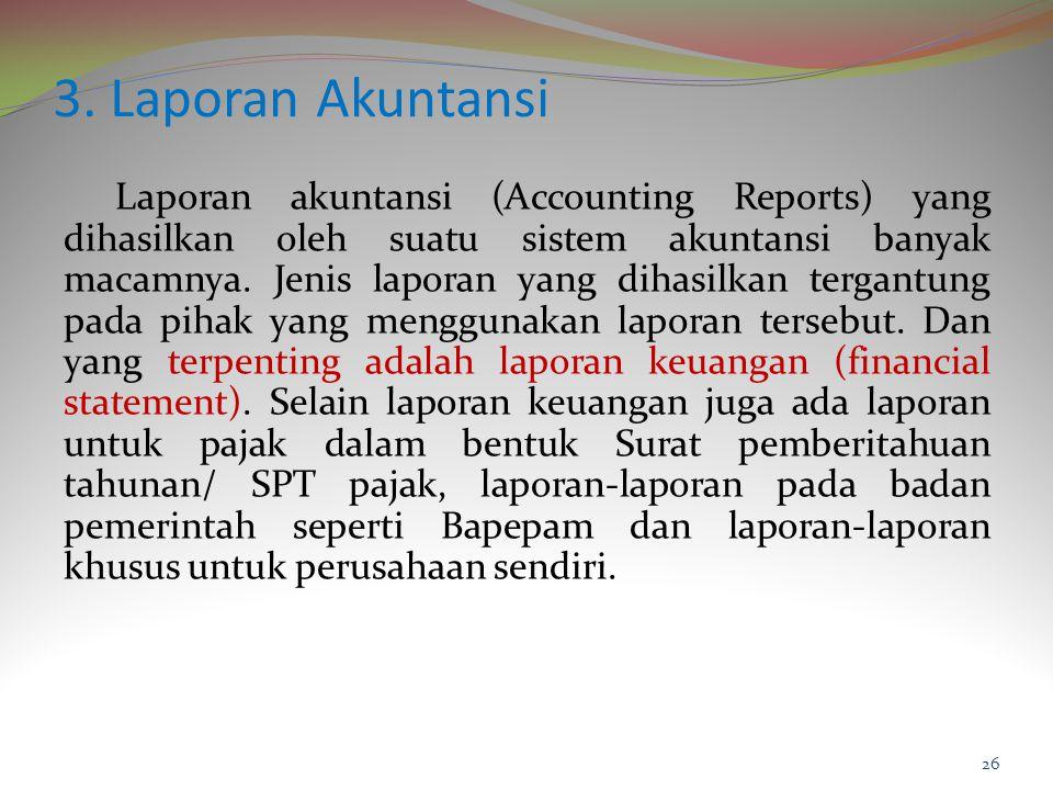 3. Laporan Akuntansi