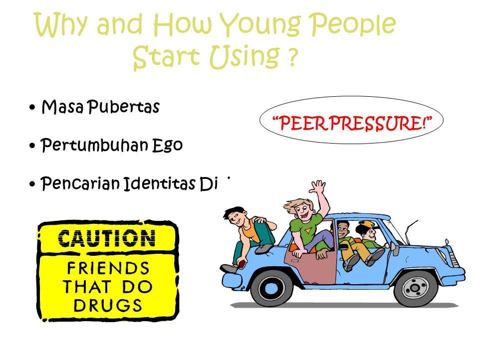 Why and How Young People Start Using