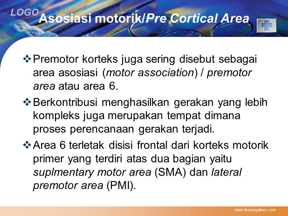 Asosiasi motorik/Pre Cortical Area