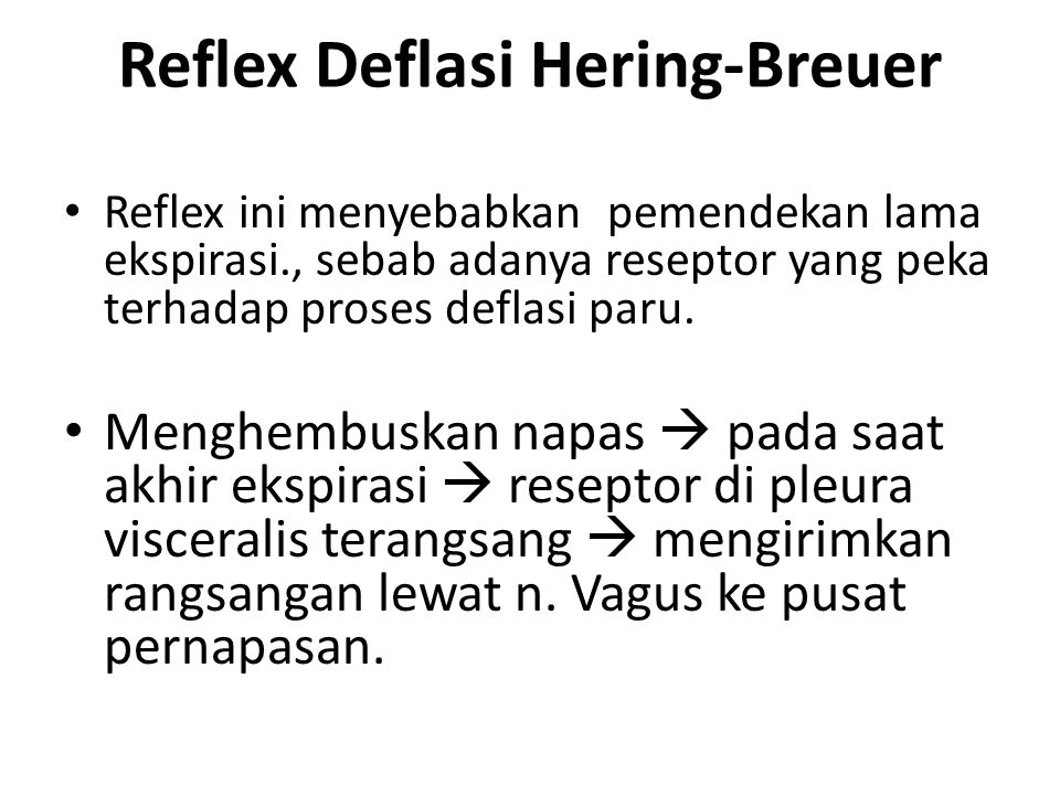 Reflex Deflasi Hering-Breuer