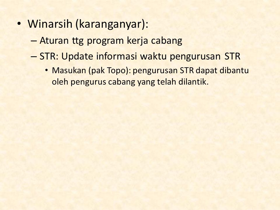 Winarsih (karanganyar):
