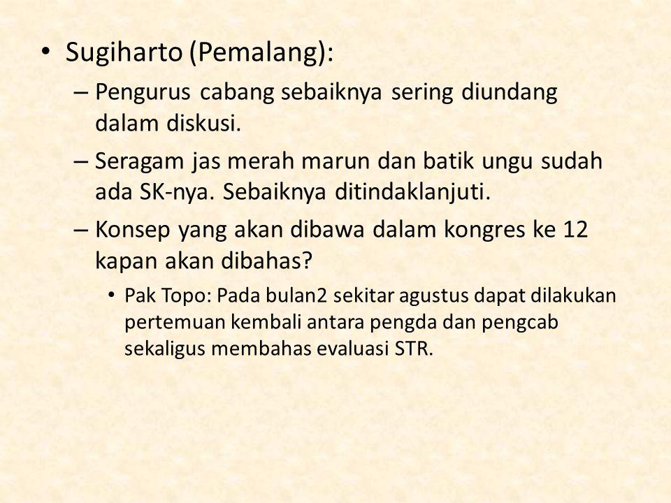 Sugiharto (Pemalang):