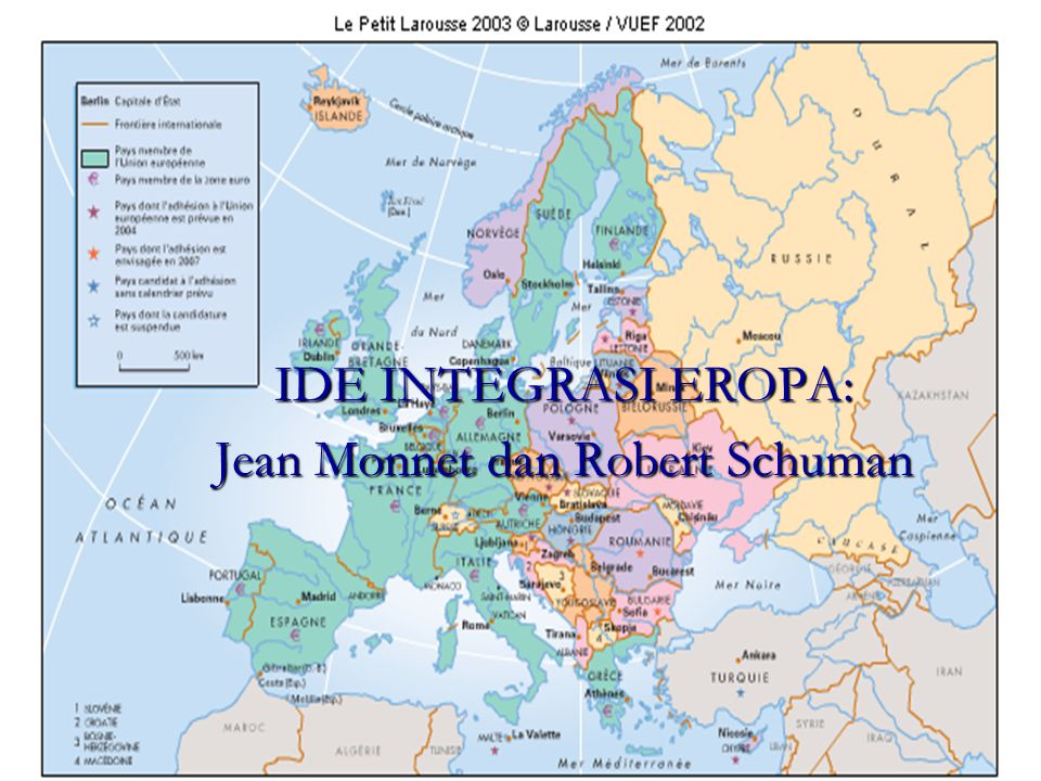 IDE INTEGRASI EROPA: Jean Monnet dan Robert Schuman