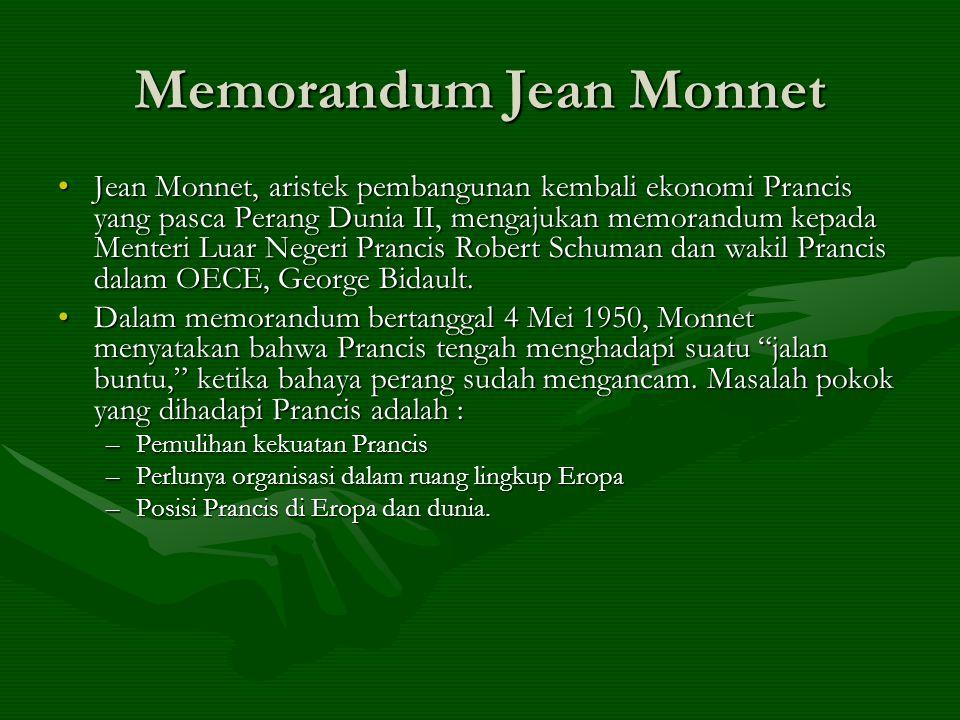 Memorandum Jean Monnet