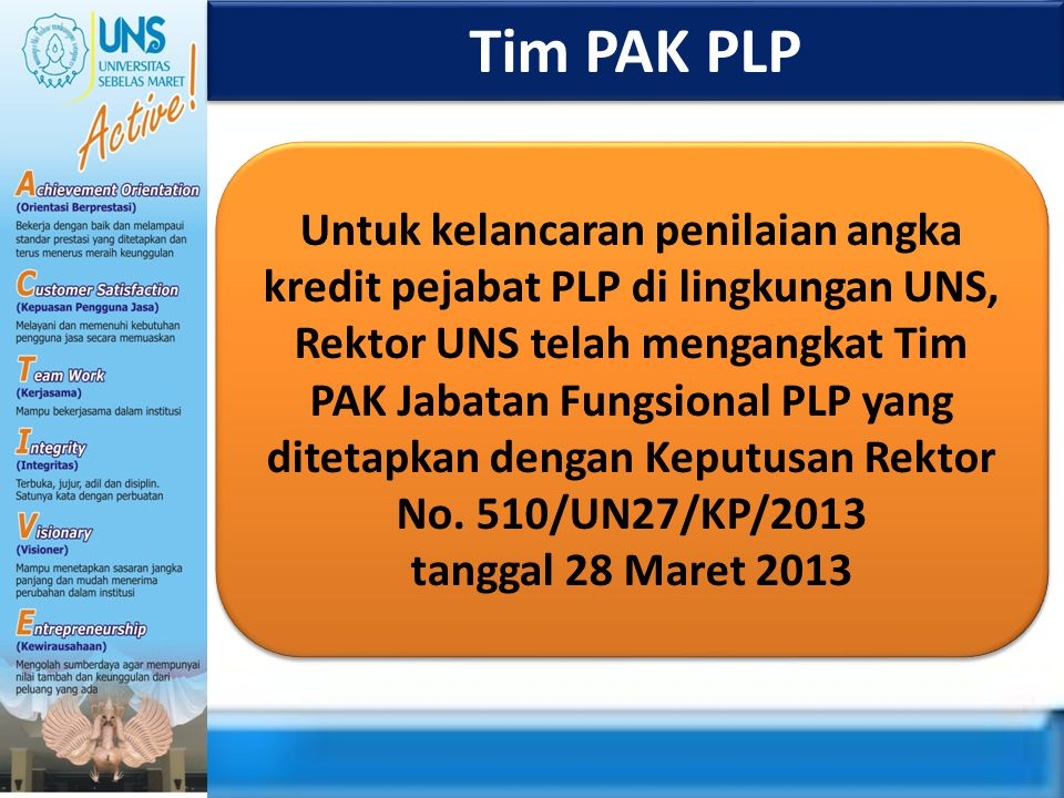 Tim PAK PLP