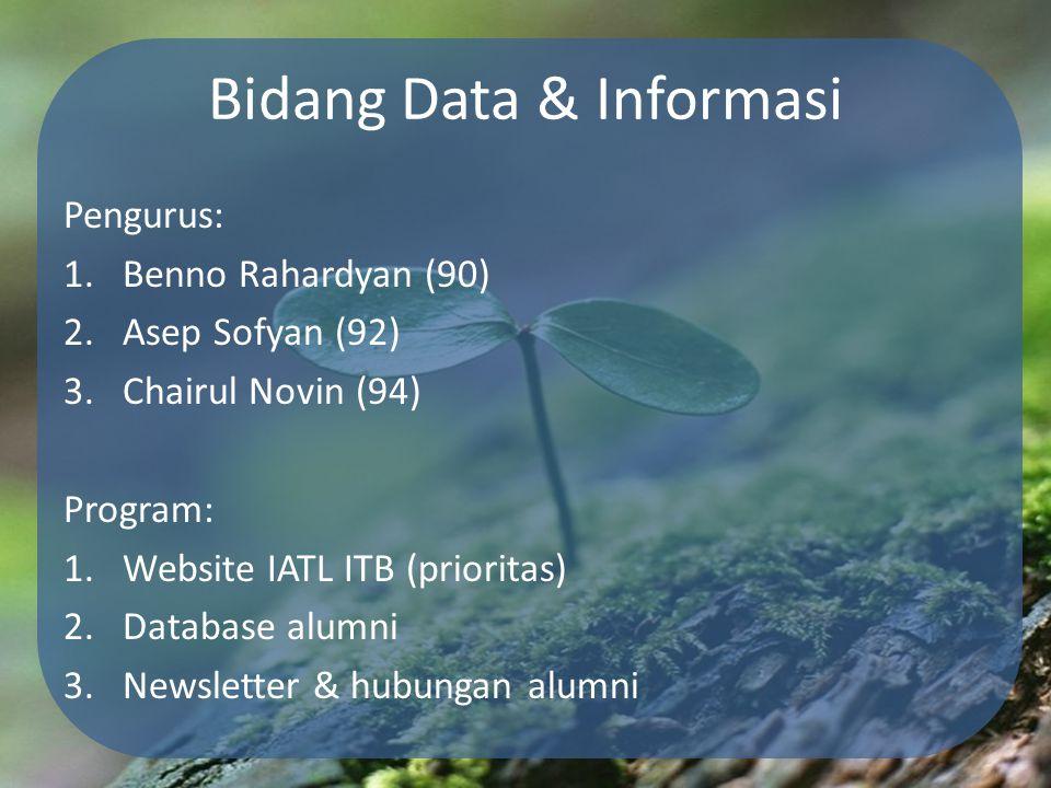 Bidang Data & Informasi
