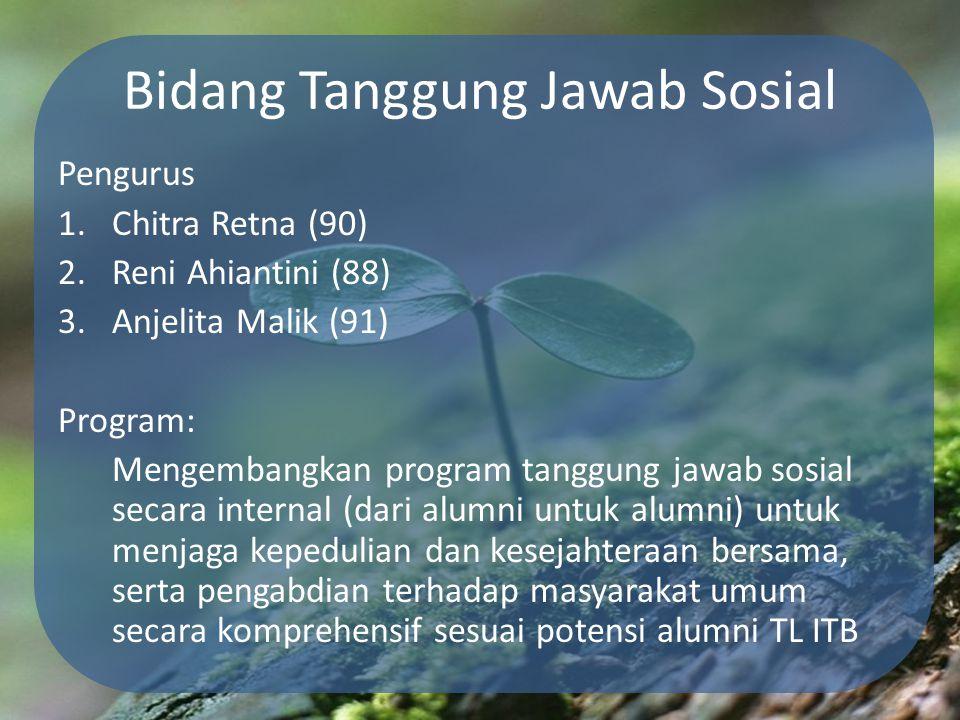 Bidang Tanggung Jawab Sosial