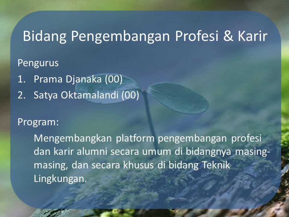 Bidang Pengembangan Profesi & Karir