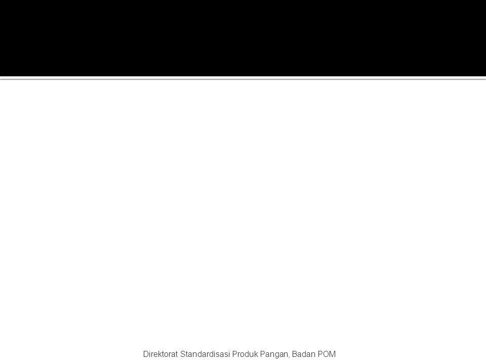 Direktorat Standardisasi Produk Pangan, Badan POM