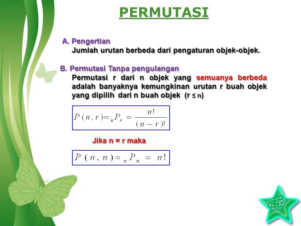 PERMUTASI A. Pengertian
