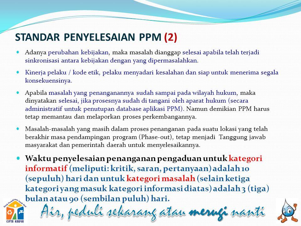 STANDAR PENYELESAIAN PPM (2)