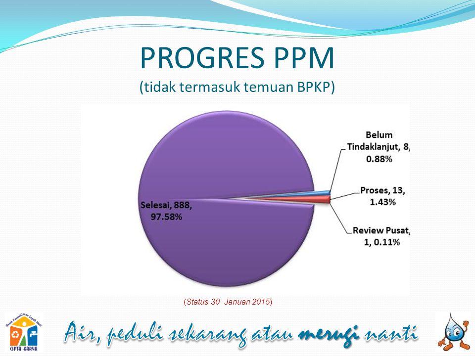PROGRES PPM (tidak termasuk temuan BPKP)