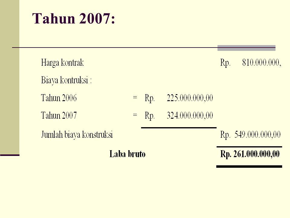 Tahun 2007: