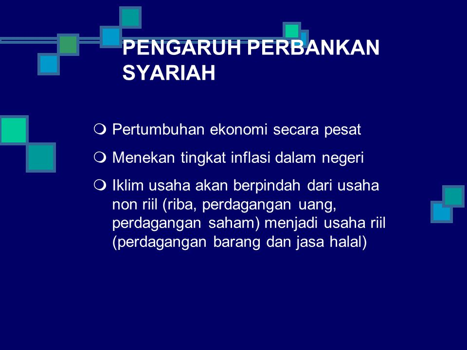 PENGARUH PERBANKAN SYARIAH