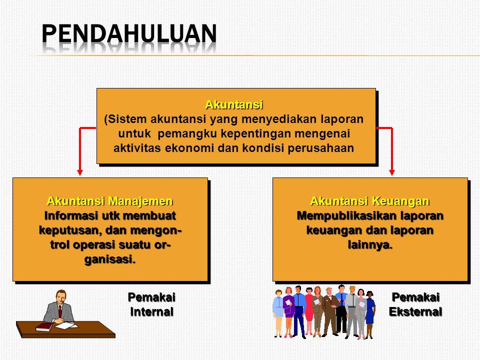 Pendahuluan Akuntansi (Sistem akuntansi yang menyediakan laporan