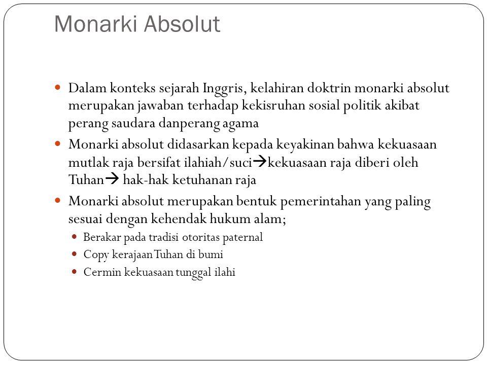 Monarki Absolut