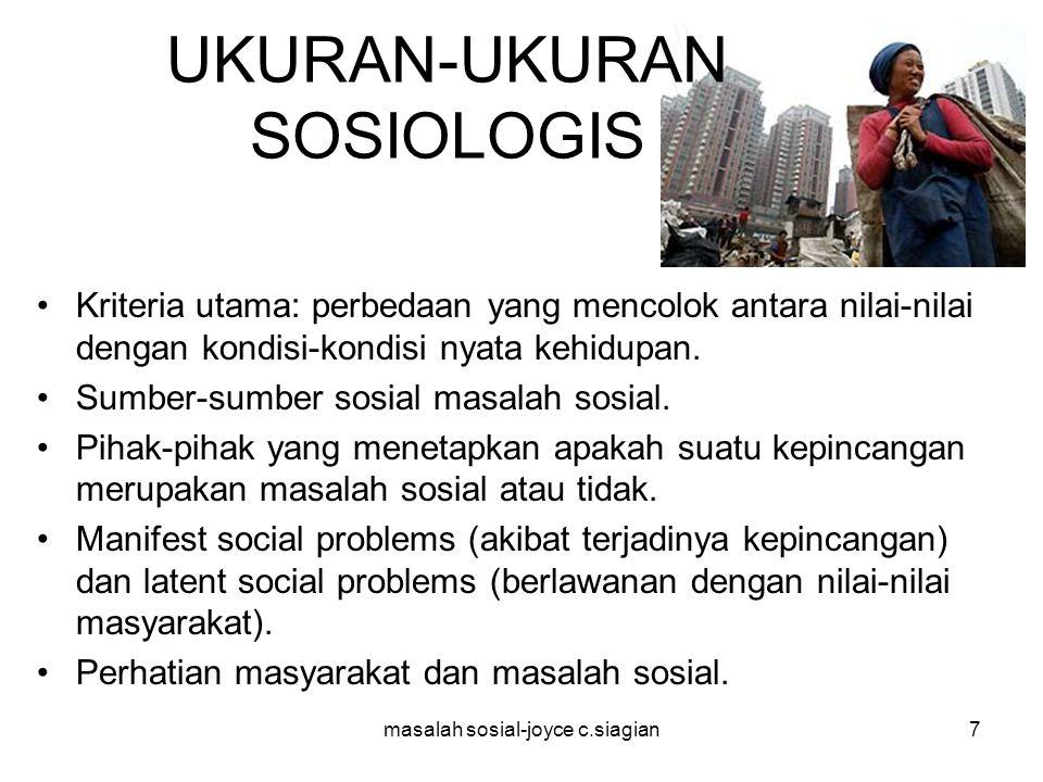 UKURAN-UKURAN SOSIOLOGIS