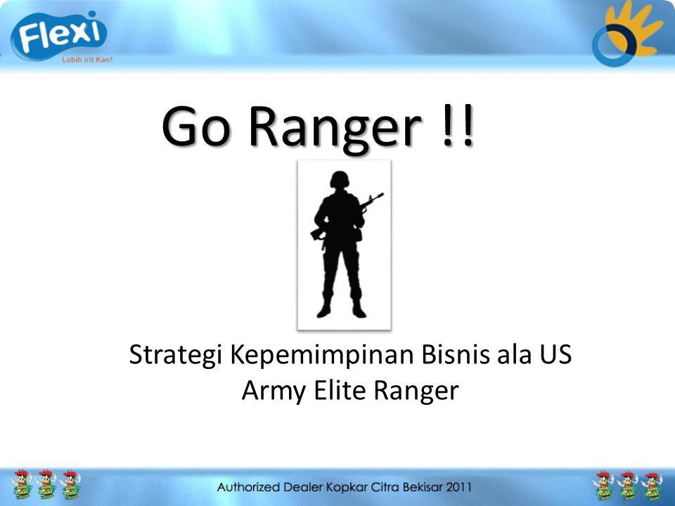 Strategi Kepemimpinan Bisnis ala US Army Elite Ranger