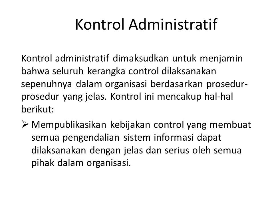 Kontrol Administratif