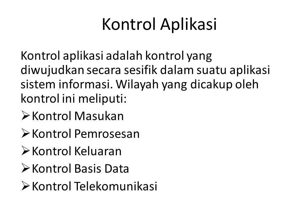 Kontrol Aplikasi