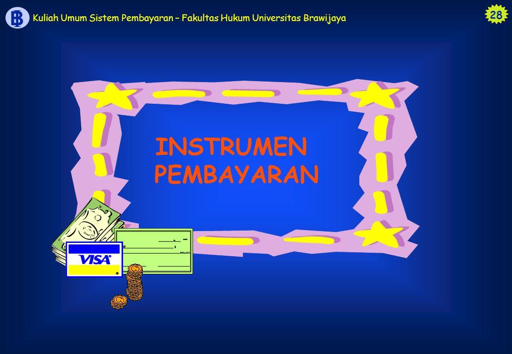INSTRUMEN PEMBAYARAN