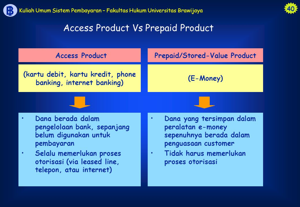 Access Product Vs Prepaid Product