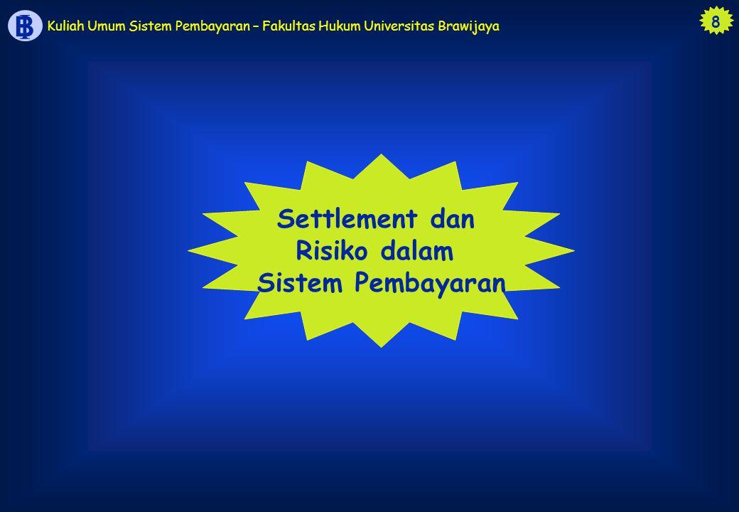 Risiko dalam Sistem Pembayaran