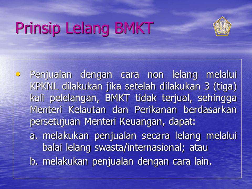 Prinsip Lelang BMKT