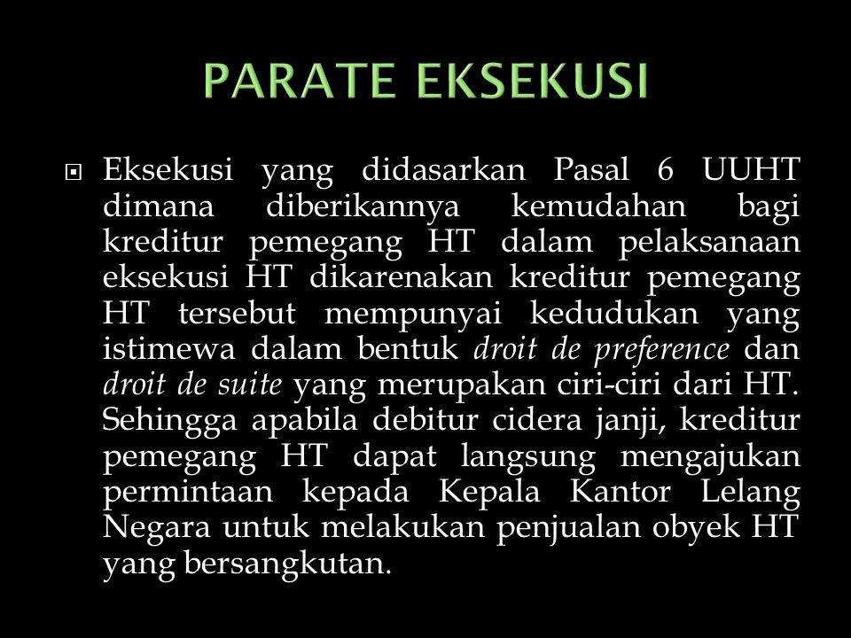 PARATE EKSEKUSI