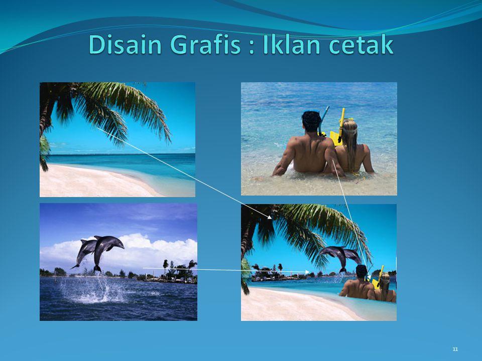 Disain Grafis : Iklan cetak