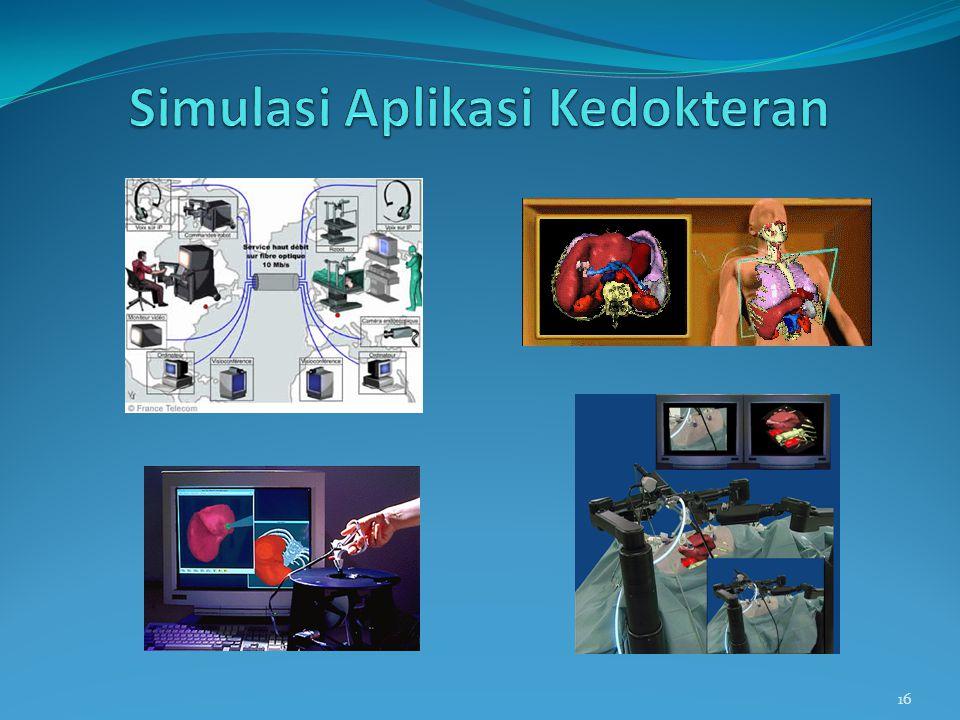 Simulasi Aplikasi Kedokteran