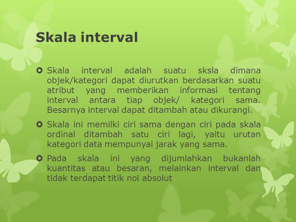 Skala interval