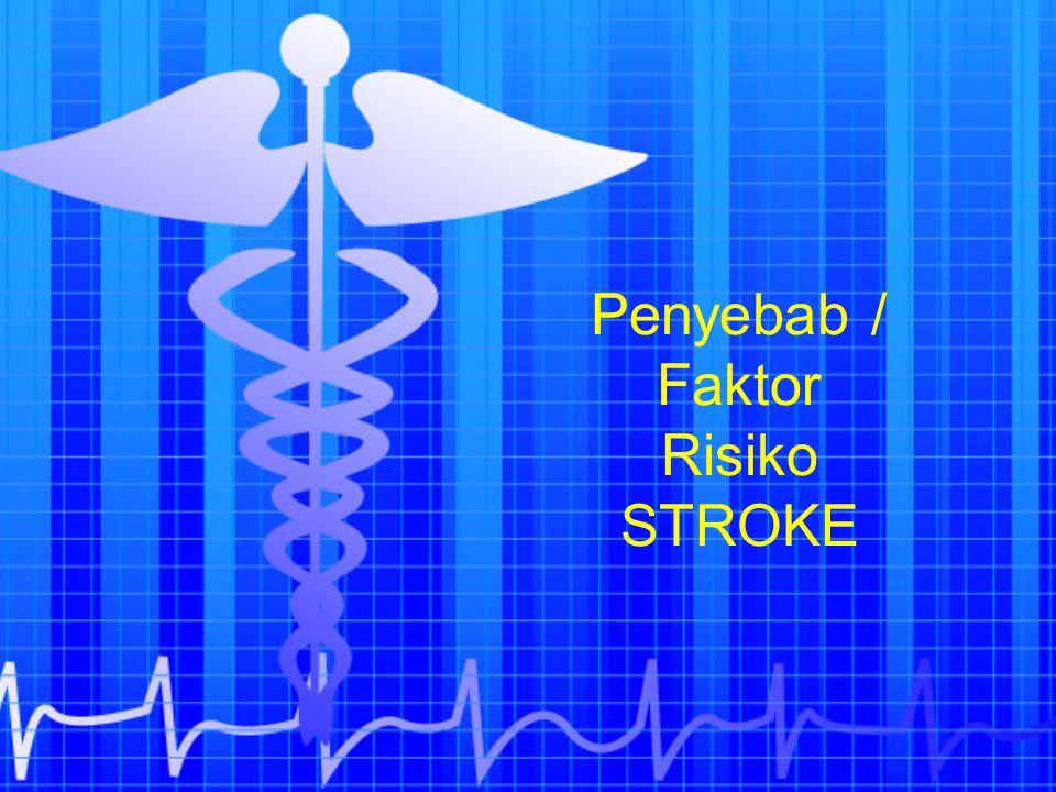 Penyebab / Faktor Risiko STROKE
