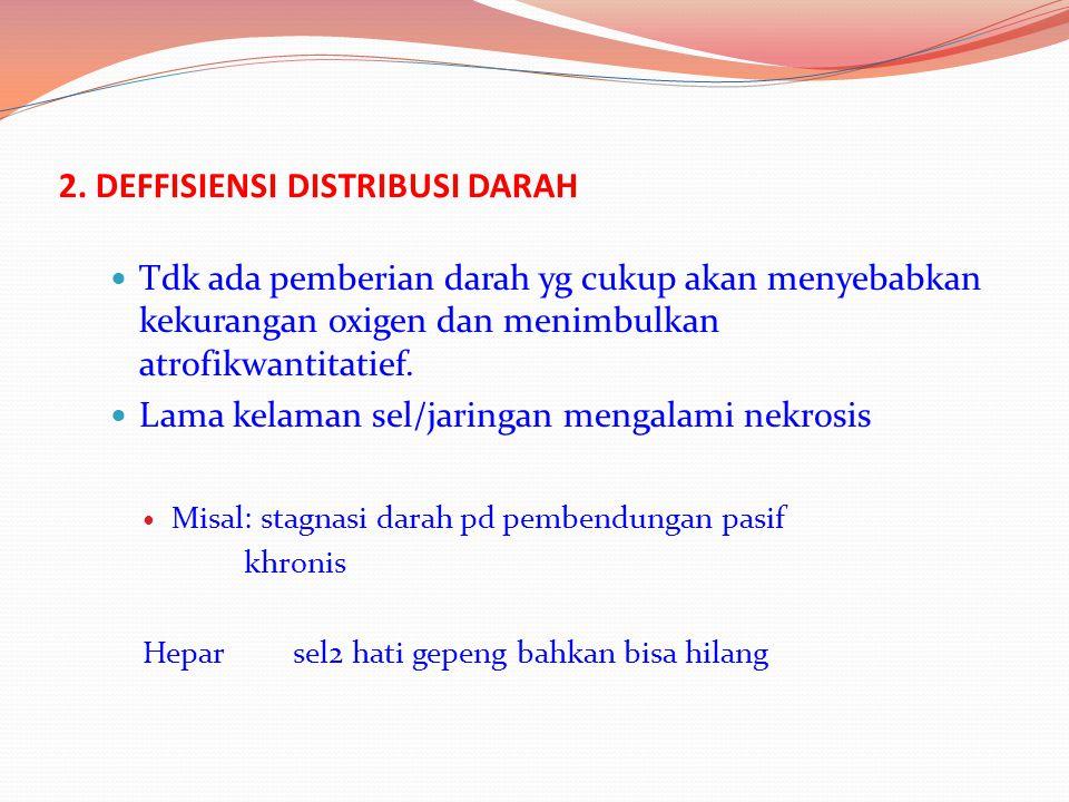 2. DEFFISIENSI DISTRIBUSI DARAH